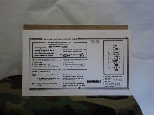 66mm law sighting card (copy)