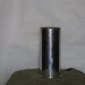 75mm Howitzer inert fired aluminum blank case. M9A1B1 polished