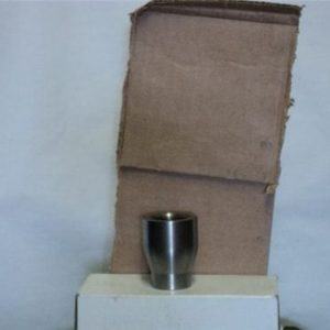 81mm mortar tail fin adapter (to adapt old style finns to new style round) steel