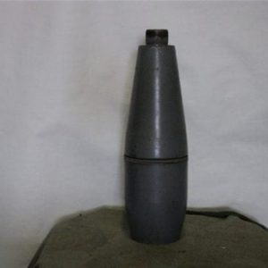 81mm mortar long gray bodies without fins or fuse stamped 1969 M-374A1