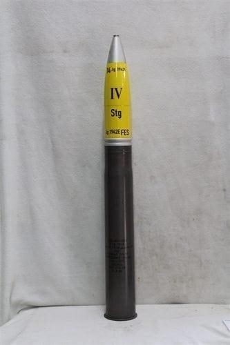 88mm German inert steel case dummy round replica HE projectile