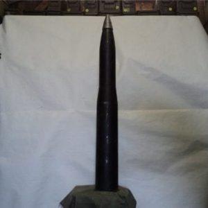 90mm U.S. solid steel dummy round
