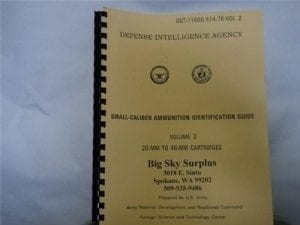 Small Caliber ammunition guide Volume 2. 20mm to 40mm