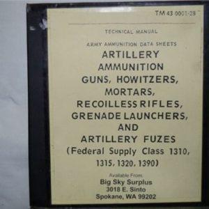 Technical manual. Army ammunition data sheet 37mm and up plus Army ammunition data sheets for mortors, grenade launchers, etc.