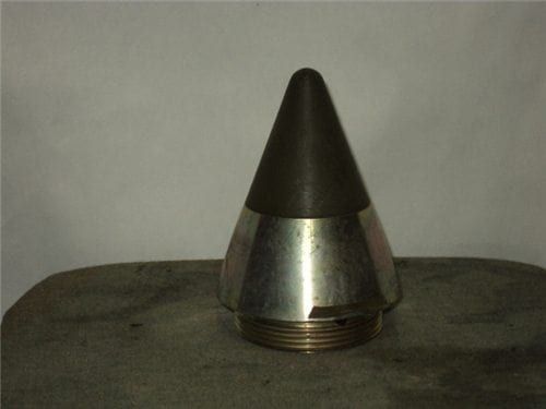 Mark 71 Mod 15 inert nose fuse with green plastic tip and 2-1/2 inch base