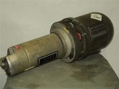 Dummy electronic fuse, FMU-56B, UO-AL C HFAB, UT. (Hill air force base, Utah) slight damage from de-mill, Sold AS-IS