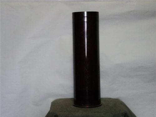 105mm Howitzer Lacquered steel case, New, unfired