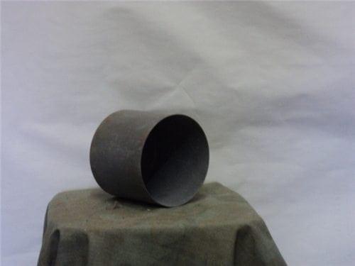 120MM Inert shell protector steel cap. 5-1/8″ wide by 4-1/2″ deep