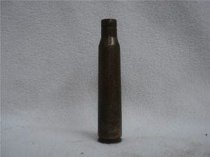 12.7mm brass case split neck, Primed cases.
