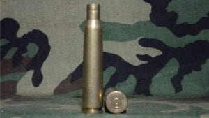 12.7mm brass fired case. Price per case.