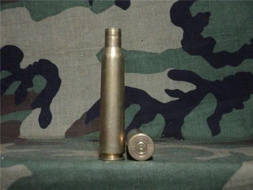 12.7mm brass fired case. Price per case.