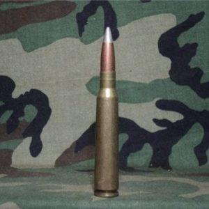 12.7mm API ammo, U.S. bullet brass. Price per round.
