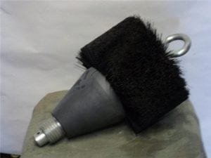 155MM barel brush, Pull through type (also can use push rod)