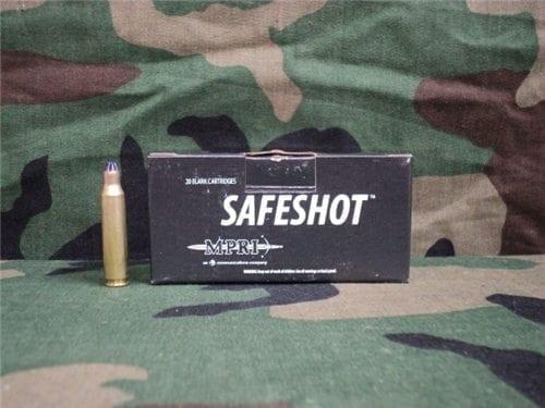 223 Safe shot blanks in 20 round box.