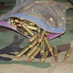 223 Tracer ammo. 100 round bag