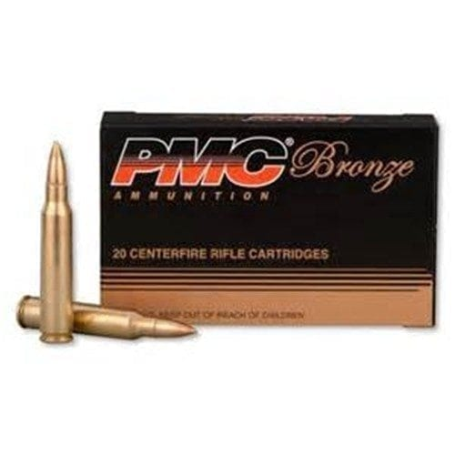 PMC 223 A 55 GR target ammo. 100 round pack.