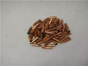 223 long hollow tracer jacket with lead in tip. 100 projectile pack.