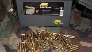 223 tracer ammo. 500 rds in a Plano can