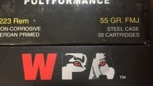Wolf 22355 Performance 223 Remington/5.56 NATO Bimetal Jacket 55 GR 500Rds