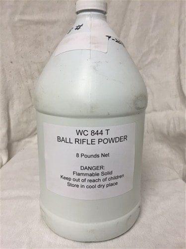 Wc 844T powder. 8 pound jug