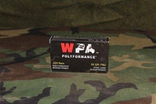 .223 Wolf WPA Polyformance, 20 round box.