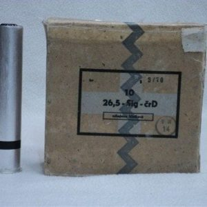 26.5mm black smoke rounds. Price is for 10 round box.