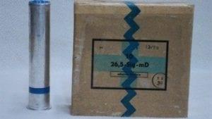 26.5mm Blue smoke rounds. Box of 10