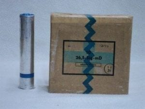 26.5mm Blue smoke rounds. Box of 10