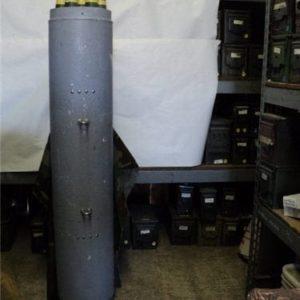 2.75 inch seven shot plastic pod with plastic warheads