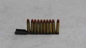 30 carbine tracer ammo.10 round on stripper clips.