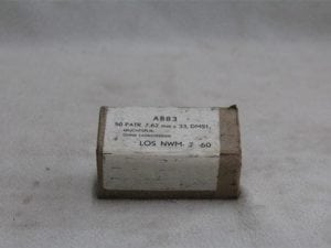 30 Carbine tracer ammo.50 round box