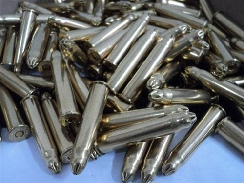 303 British crimp type blanks for reenactment. 100 round pack.