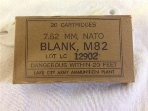 308 U.S Bottle nose blanks M82. 20 round box