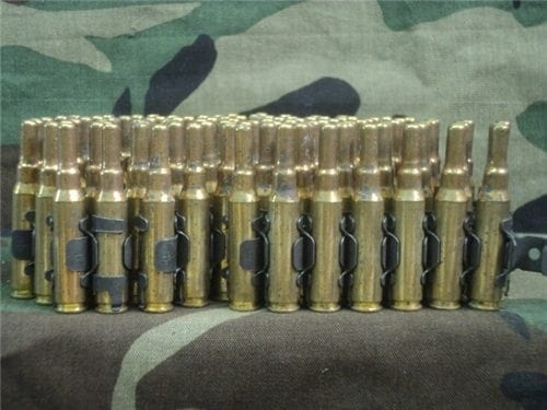 308 U.S. Bottle nose blanks. 100 round linked.