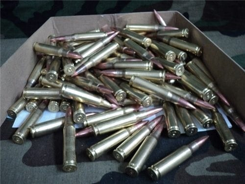 308 Brass case dummy rounds made from fired brass and new projectile, 100 round pack.