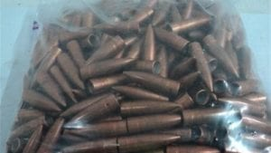 .310 Diameter 150 grain Conical base ball bullets. 500 projectile bag