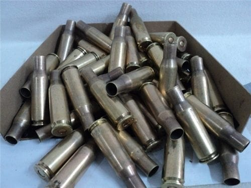 50 cal spotter primed brass case w/ flash tube. 10 case pack