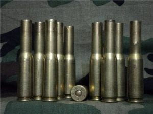 50 cal spotter tracer primed brass made from 50 cal. Not cut off or trimmed.10 case pack