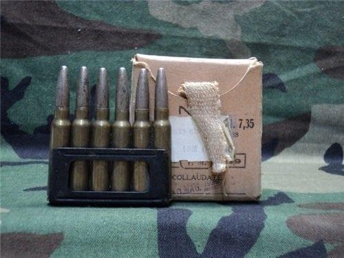 7.35 Carcano ball ammo. Price per round