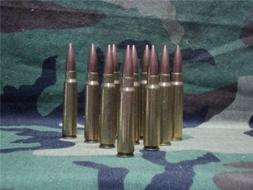 7.65 Argentine brass case dummy rds. 10 round pack