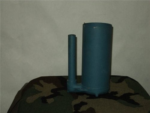 Bouncing Betty inert anti personnel training mines small type. No fuse