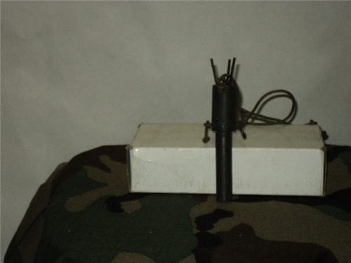 Bouncing Betty three prong type inert training fuse