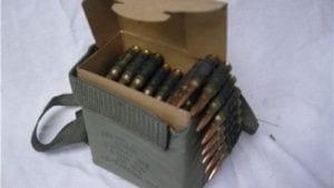 308 M60 100 Round Belt of Ammo