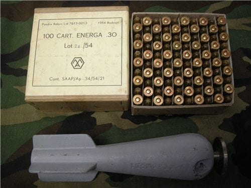 30-06 Grenade launch blanks and firing device.