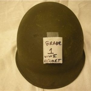 U.S. GI WWII and korean helmets (Grade 1,2 or 3))
