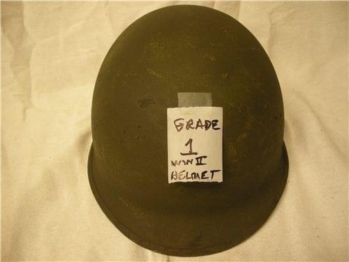 U.S. GI WWII and korean helmets (Grade 1,2 or 3))