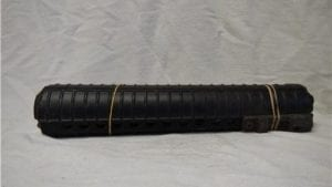 223 M-16/AR15 forearm, long round style with lazer holder. Price per set