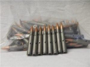 30-06 steel case dummy rds. 500 round pack