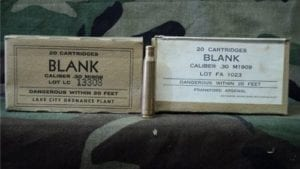 30-06 U.S blanks in 20rd box