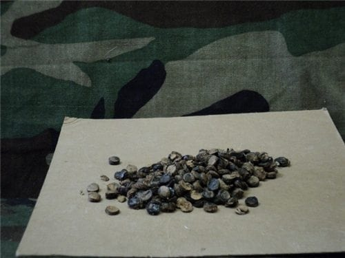30-06 Blank fiber wad. 100 wad pack